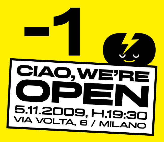 CIAO WE'RE OPEN... -1