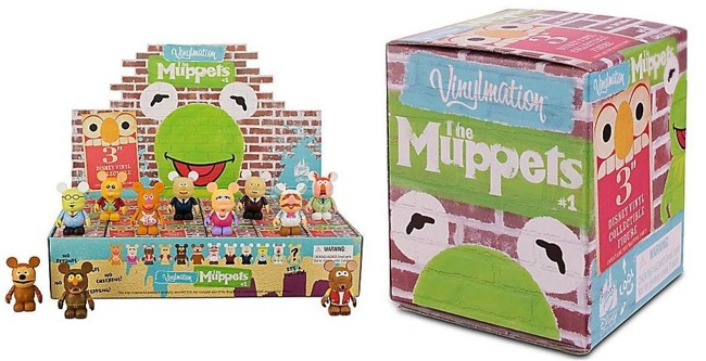 Disney Vinylmation The Muppets Series 1 Display Case and Blind Box Artwork