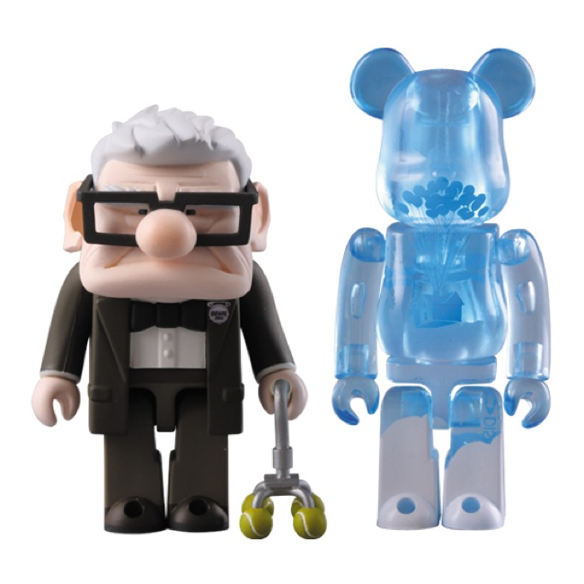 Medicom-Toy-x-Up-Grandpa-Carl-Kubrick-Be@rbrick-Set
