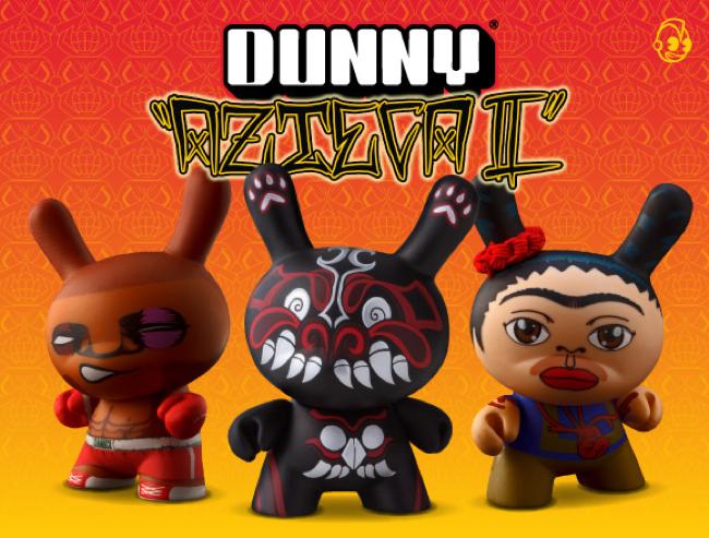 Kidrobot Dunny Azteca II Series