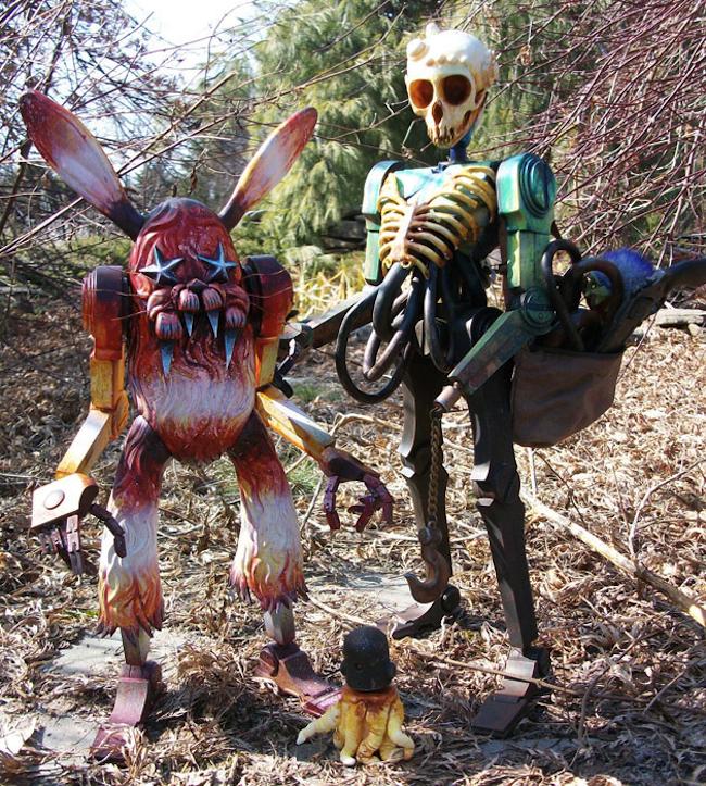 Brent-Nolasco_Bunny-and-Skullbot