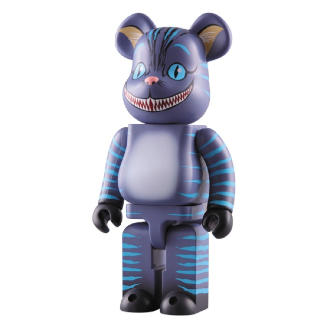 Medicom x Disney Alice In Wonderland Cheshire Cat 400 Bearbrick