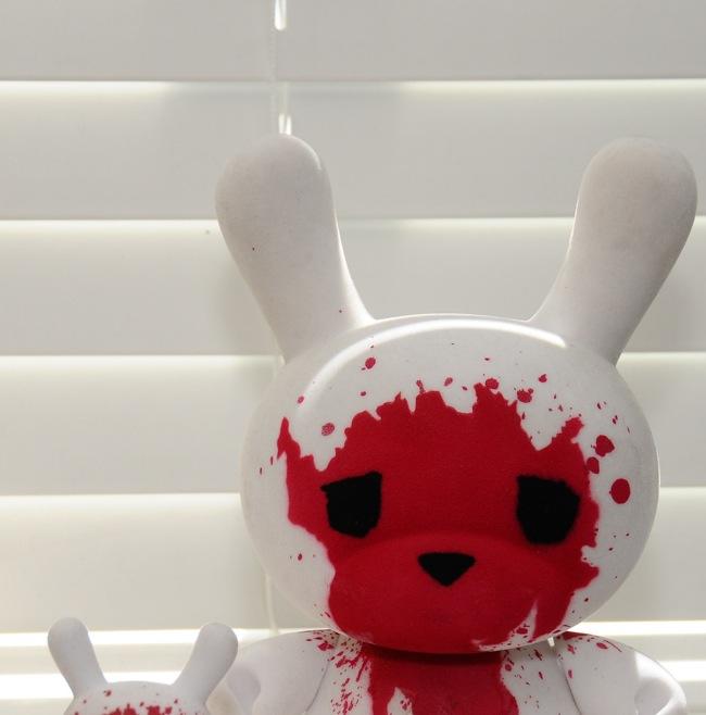Kidrobot - Luke Chueh 8 Inch Dunny Teaser Image