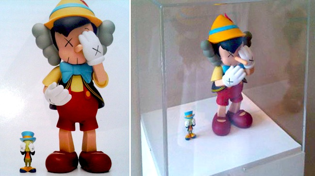 kaws_pinocchio_jimmy_cricket