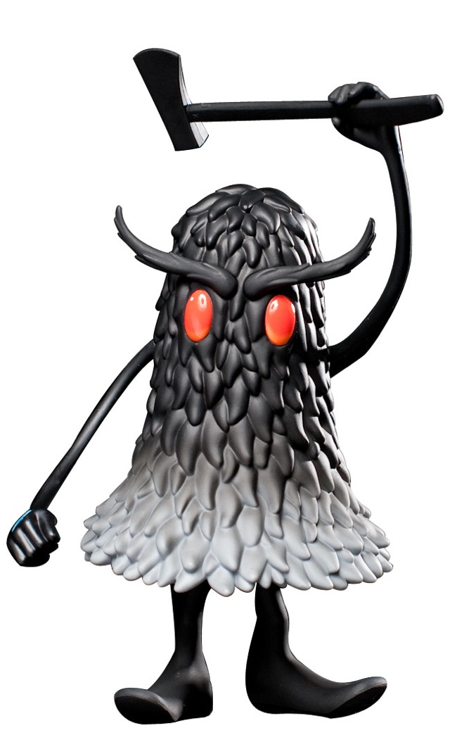 Kidrobot Black - The Deek 6.5 Inch Vinyl Figure by Jeff Soto