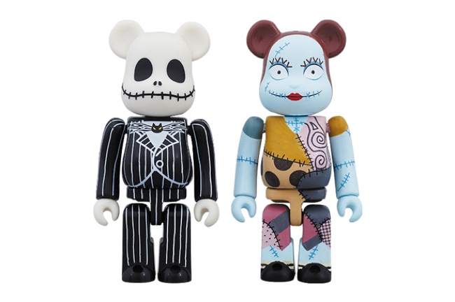 medicom-skellington-bearbrick-set-1