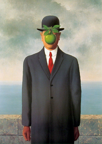 Ren? Magritte, The Son of Man, 1964, Restored by Shimon D. Yanow