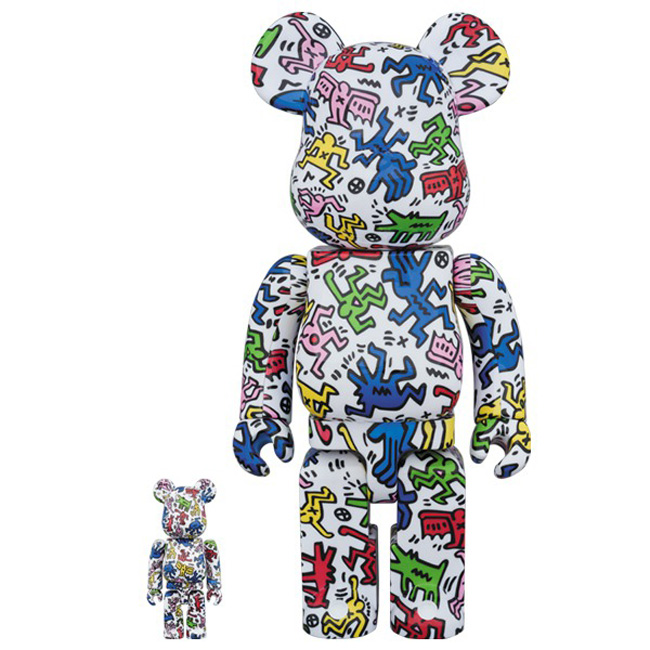 medicom-toy-bearbrick-100-400-keith-haring