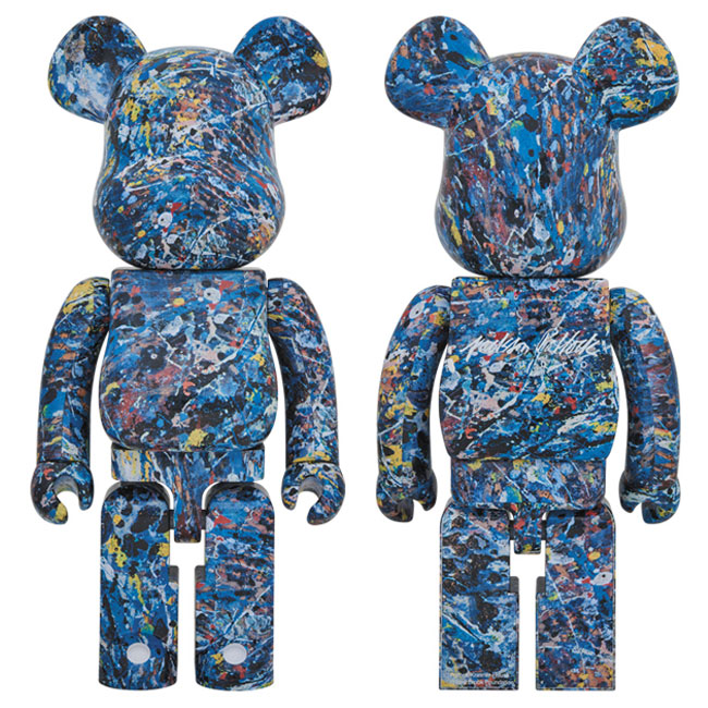 medicom-toy-bearbrick-1000-jackson-pollock